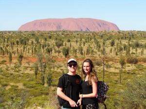 ayers rock, or uluru, northern territory, australian outback