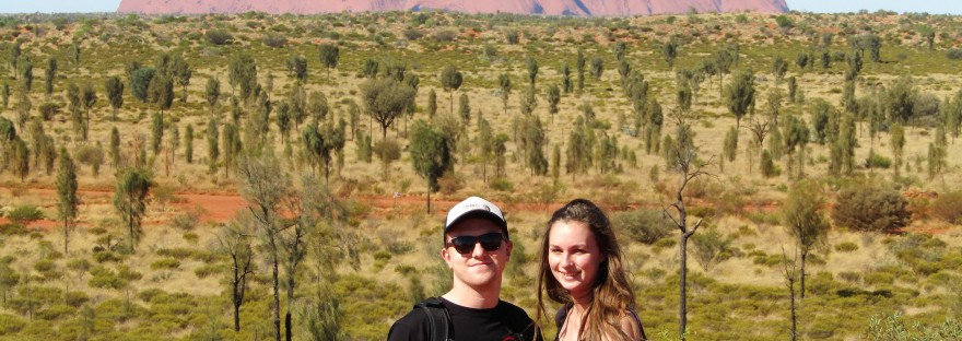 ayers rock, or uluru, northern territory, australian outback