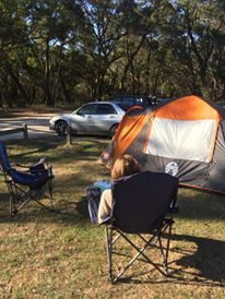 camping on the great ocean road