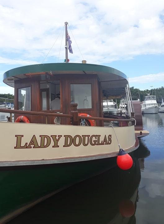 lady douglas at port douglas marina