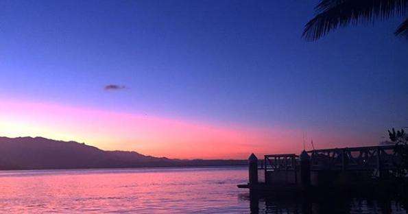 port douglas sunset view from rex smeal park
