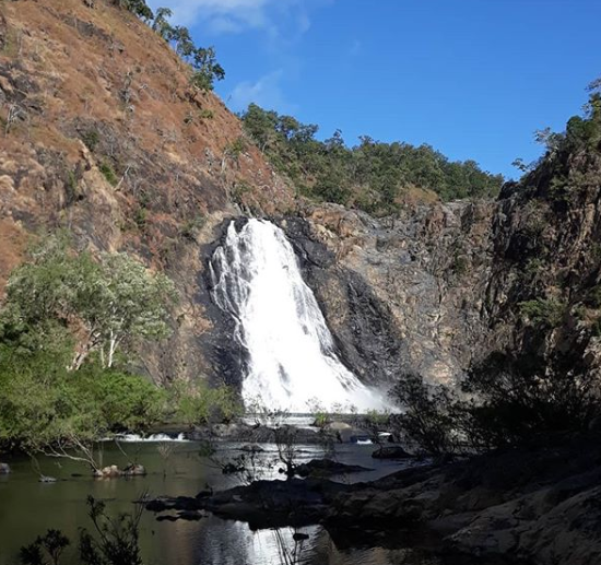 wijal wujal falls, far north queensland